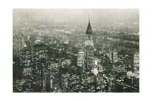 Manhattan at Night by Wild Apple Portfolio