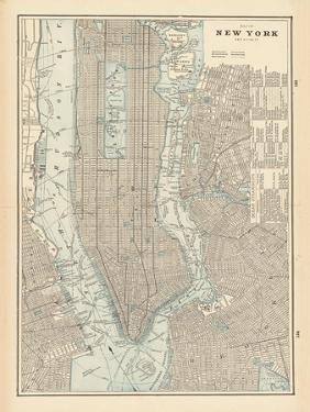 New York City Map by Wild Apple Portfolio