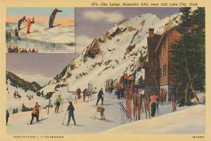 Skiing II by Wild Apple Portfolio