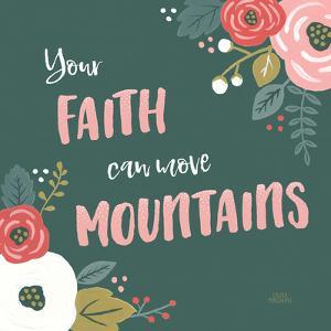 Wildflower Daydreams V Move Mountains by Wild Apple Portfolio