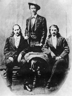 Wild Bill' Hickok, 'Texas Jack' Omohundro and 'Buffalo Bill' Cody, C1870S