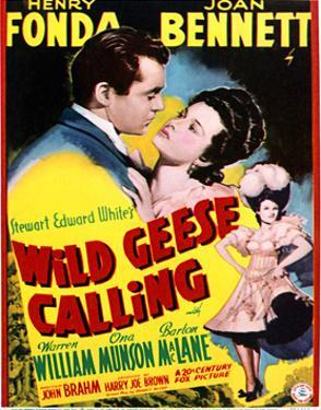 Wild Geese Calling - Movie Poster Reproduction