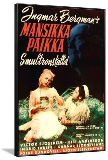 Wild Strawberries - Swedish Style--Framed Poster