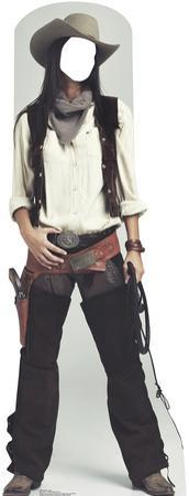 Wild West Cowgirl Stand In