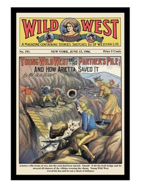 Wild West Weekly: Young Wild West and His Partner's Pile