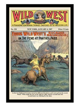 Wild West Weekly: Young Wild West's Bucking Broncos