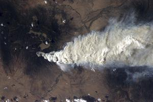 Wildfire in the Jemez Mountains of the Santa Fe National Forest, Mexico