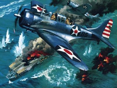 Battle of Midway by Wilf Hardy