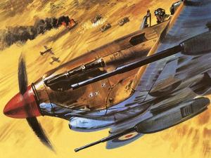 Hawker Hurricane by Wilf Hardy