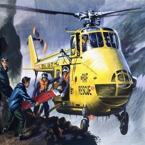 Search and Rescue, from 'Into the Blue' by Wilf Hardy