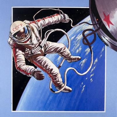 Space-Walk, from 'Famous Firsts' by Wilf Hardy