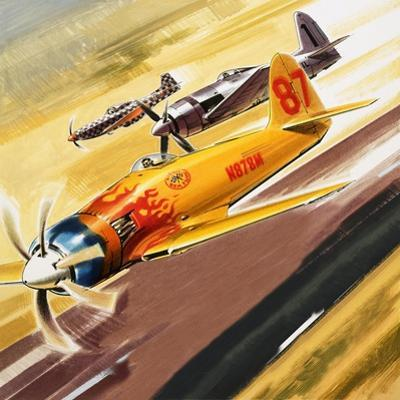 Three 'Hot Rod' Racers from Aerobatic Competitions by Wilf Hardy