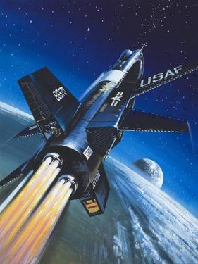 X-15 Rocket Plane by Wilf Hardy