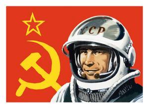 Yuri Gagarin by Wilf Hardy