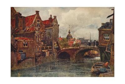 'An Old Dutch Waterway', c1915