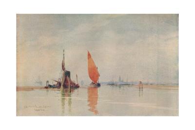 'Early Morning. Venetian Lagoons', c1917