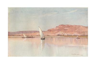 'On The Nile', c1900