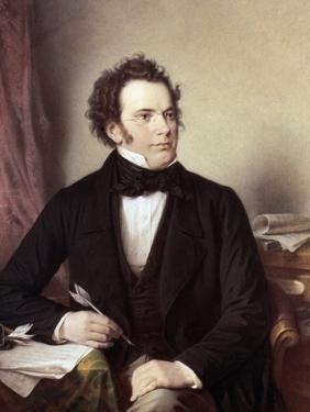 Franz Schubert (1797-1828) by Wilhelm August Rieder