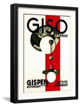 Giso Lamps by Wilhelm H. Gispen