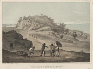 Ancient Castle of Na-Ga-Gus-Ko, Lew Chew, 1855 by Wilhelm Joseph Heine
