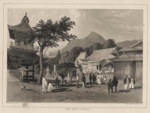 Chief Temple, Hakodadi, 1855 by Wilhelm Joseph Heine
