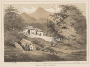 Chinese Temple, Hong Kong, 1855 by Wilhelm Joseph Heine