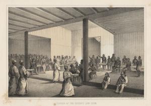 Dinner at the Regents, Lew Chew, 1855 by Wilhelm Joseph Heine