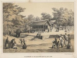 Encampment of the Exploring Party in Lew Chew, 1855 by Wilhelm Joseph Heine