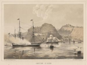 Jamestown, St. Helena, 1855 by Wilhelm Joseph Heine