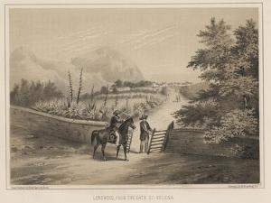 Longwood, from the Gate, St. Helena, 1855 by Wilhelm Joseph Heine