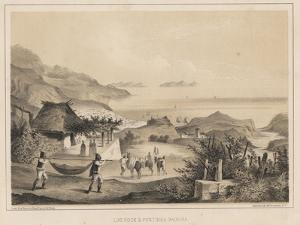Loo Rock and Pontinha Madeira, 1855 by Wilhelm Joseph Heine