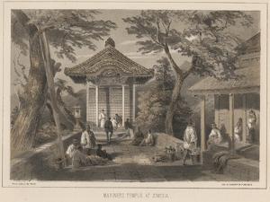 Mariners Temple at Simoda, 1855 by Wilhelm Joseph Heine