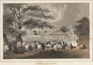 Market Place at Napha, 1855 by Wilhelm Joseph Heine