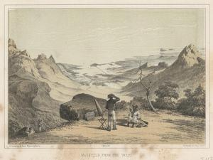 Mauritius from the Pouce, 1855 by Wilhelm Joseph Heine