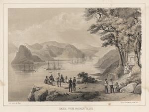 Simoda from Vandalia Bluff, 1855 by Wilhelm Joseph Heine