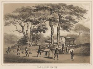 Tshan-Di-Coo-Sah, Lew Chew, 1855 by Wilhelm Joseph Heine