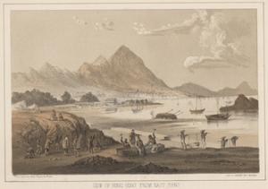 View of Hong Kong from East Point, 1855 by Wilhelm Joseph Heine