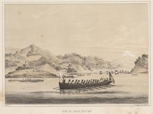 View of Uraga, Yedo Bay, 1855 by Wilhelm Joseph Heine