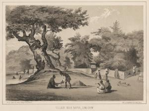 Village Near Napha, Lew Chew, 1855 by Wilhelm Joseph Heine