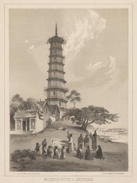 Whampoa Pagoda and Anchorage, 1855 by Wilhelm Joseph Heine