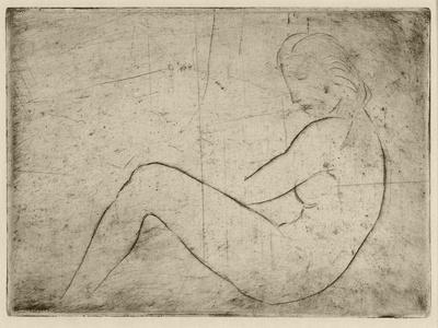 Liegender Akt (Meeresstimmung), 1910