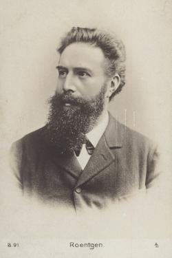 Wilhelm Roentgen (1845-1923), German Physicist