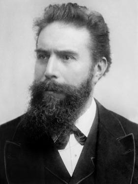 Wilhelm Roentgen Received the Nobel Prize for Physics for the Discovery of X-Rays