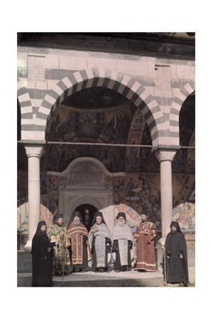 Priests of the Rila Monastery Belong to the Bulgarian National Church