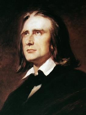 Franz Liszt (1811-1886) by Wilhelm Von Kaulbach