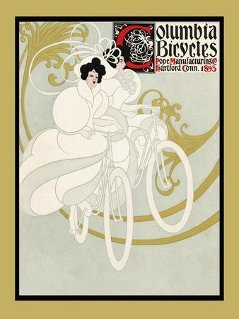 Columbia Bicycles. Pope Manufacturing Co Hartford, Conn. 1895