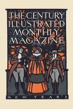 The Century Illustrated Monthly Magazine, New Year'S by Will Bradley
