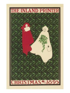 The Inland Printer, Christmas 1895 by Will Bradley