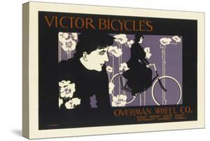 Victor Bicycles Overman Wheel Co. by Will Bradley