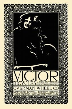 Victor Bicycles, Overman Wheel Co. by Will Bradley